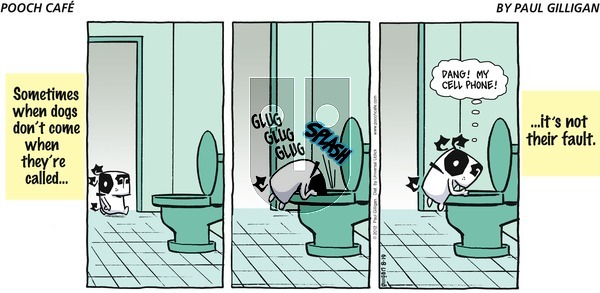 Pooch Cafe - Sunday August 19, 2012 Comic Strip