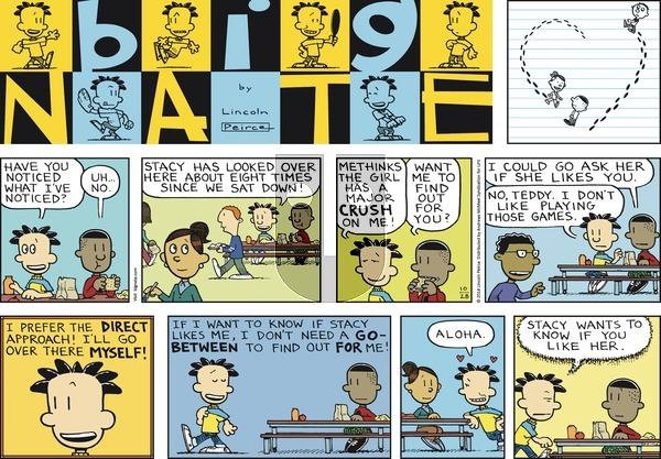 Big Nate on Sunday October 28, 2018 Comic Strip