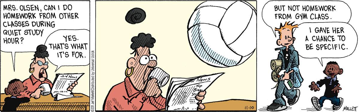 Frazz for Nov 10, 2011 Comic Strip