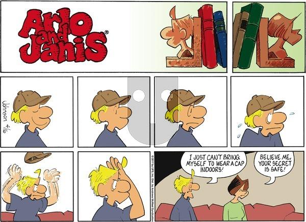 Arlo and Janis on Sunday April 16, 2017 Comic Strip
