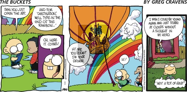 The Buckets on Sunday October 25, 2020 Comic Strip