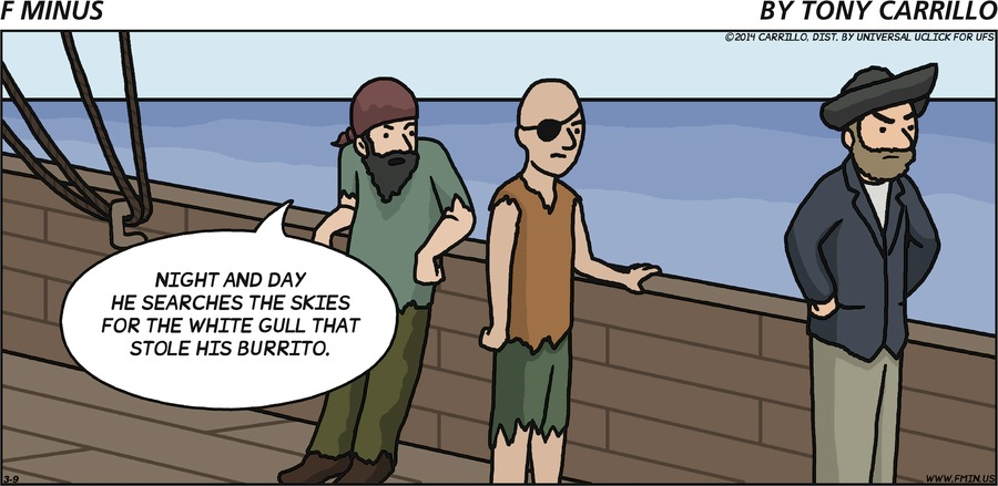 F Minus for Mar 9, 2014 Comic Strip
