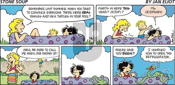 Stone Soup on July 16, 2017 Comic Strip