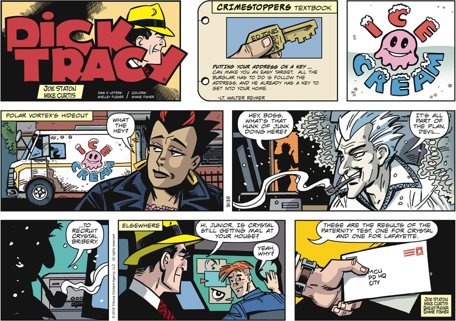 Dick Tracy Comic Strip for September 30, 2018