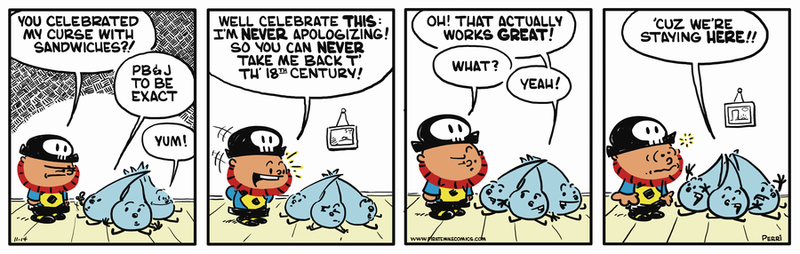 Pirate Mike Comic Strip for November 14, 2018