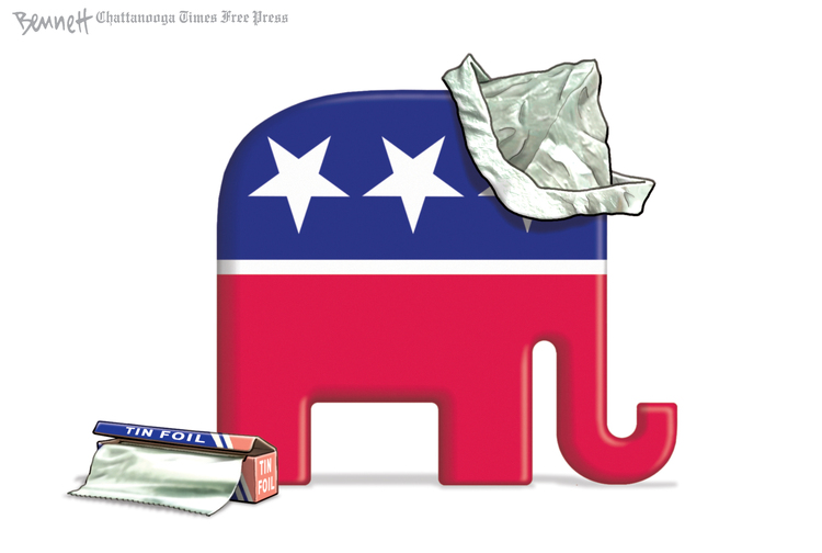 Clay Bennett by Clay Bennett on Sun, 17 Nov 2019