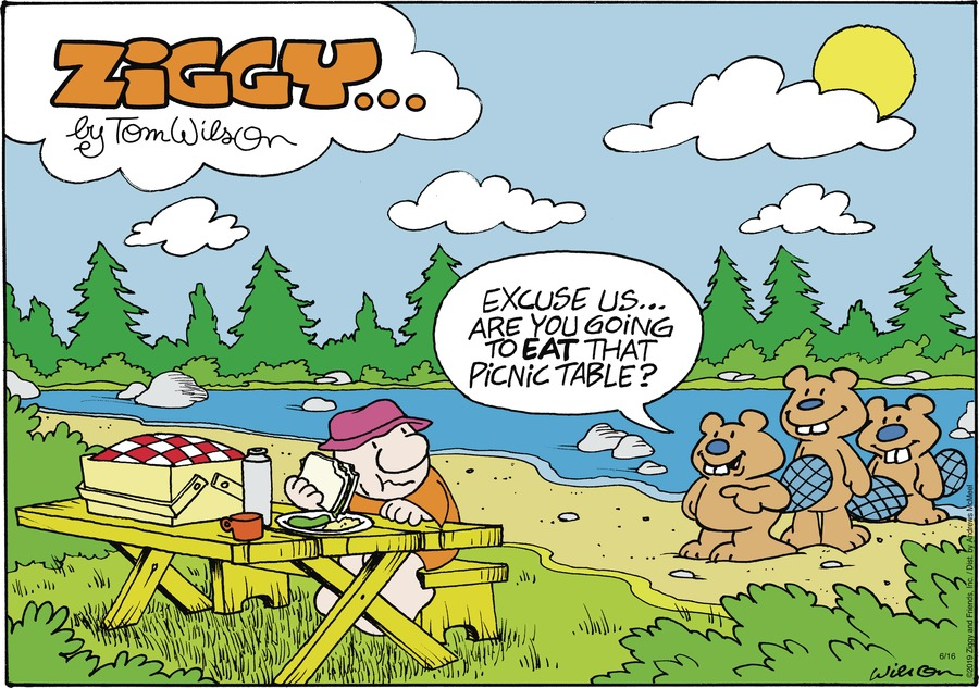 Ziggy Comic Strip for June 16, 2019