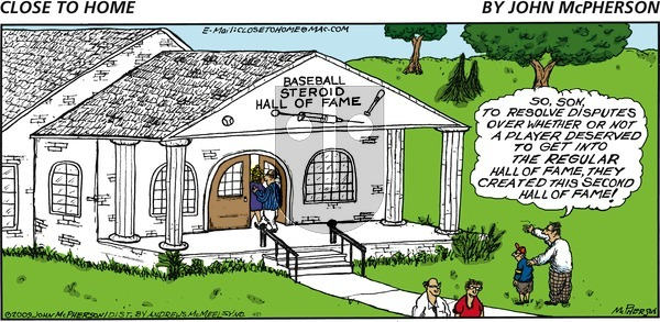 Close to Home on Sunday April 21, 2019 Comic Strip