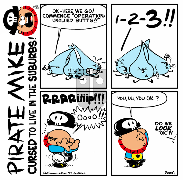 Pirate Mike on Monday May 11, 2020 Comic Strip