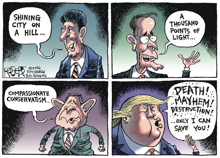 Rob Rogers Comic Strip for July 24, 2016