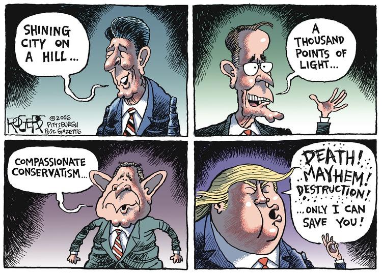 Rob Rogers for Jul 24, 2016 Comic Strip