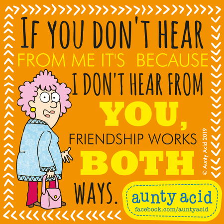Aunty Acid by Ged Backland for June 21, 2019