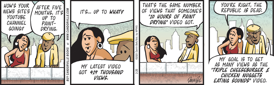 Candorville Comic Strip for February 26, 2020