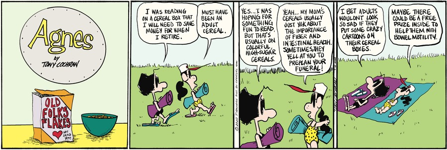Agnes Comic Strip for July 12, 2020