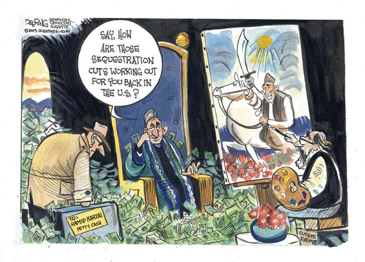 John Deering for May 7, 2013 Comic Strip