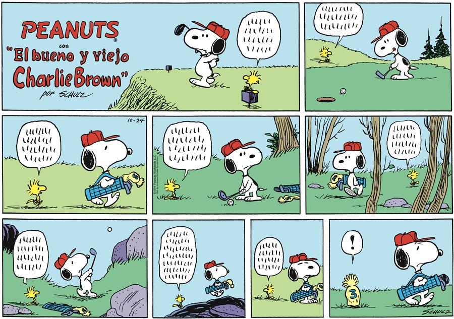 Snoopy en Español by Charles Schulz on Sun, 24 Oct 2021