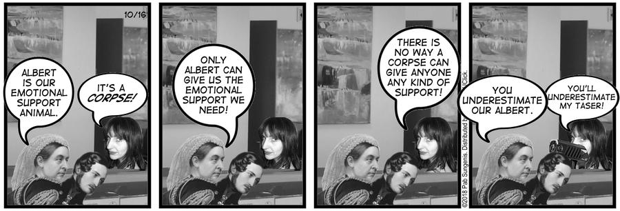 New Adventures of Queen Victoria Comic Strip for October 16, 2018