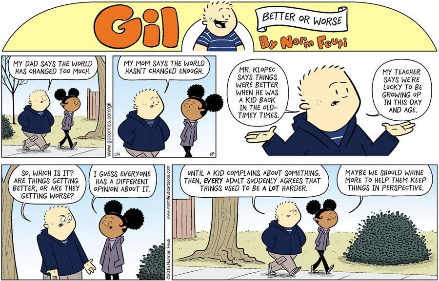 Gil Comic Strip for November 22, 2020
