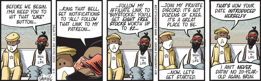 Candorville Comic Strip for May 19, 2021