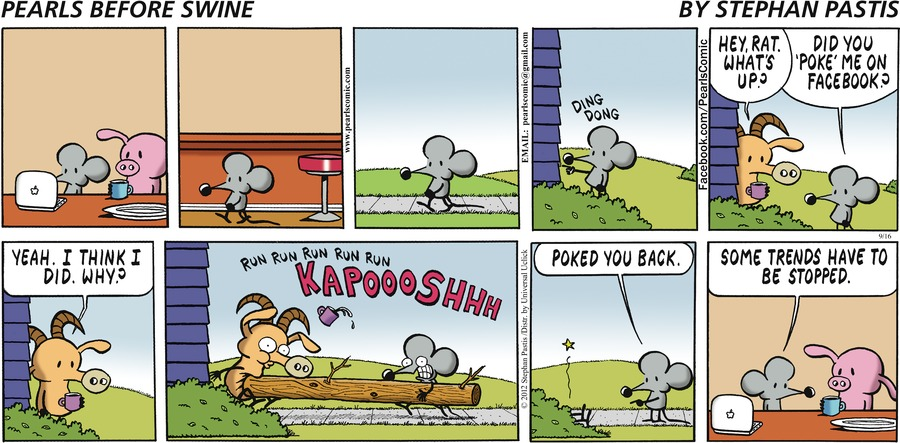 Pearls Before Swine for Sep 16, 2012 Comic Strip
