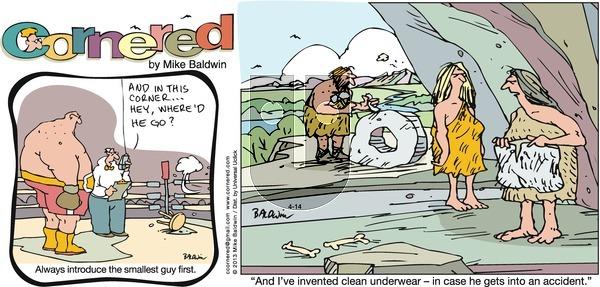 Cornered - Sunday April 14, 2013 Comic Strip
