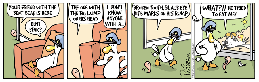 Ollie and Quentin Comic Strip for November 08, 2019