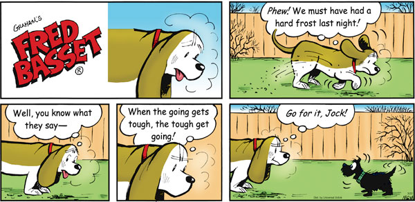Fred Basset Comic Strip for March 20, 2011