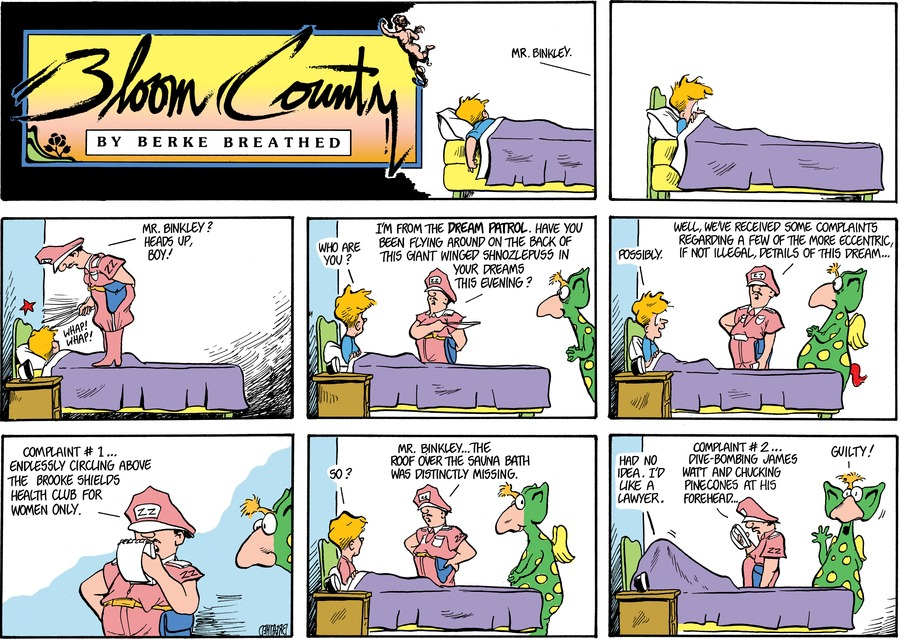 Bloom County by Berkeley Breathed for March 01, 2019