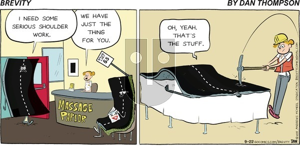 Brevity on Sunday September 22, 2019 Comic Strip