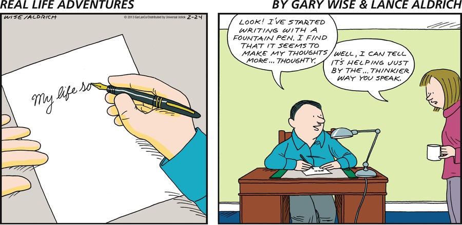 Real Life Adventures for Feb 24, 2013 Comic Strip