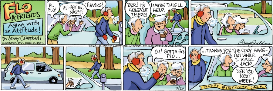 Flo and Friends for Mar 24, 2013 Comic Strip