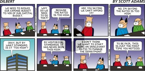 Dilbert on Sunday August 23, 2020 Comic Strip