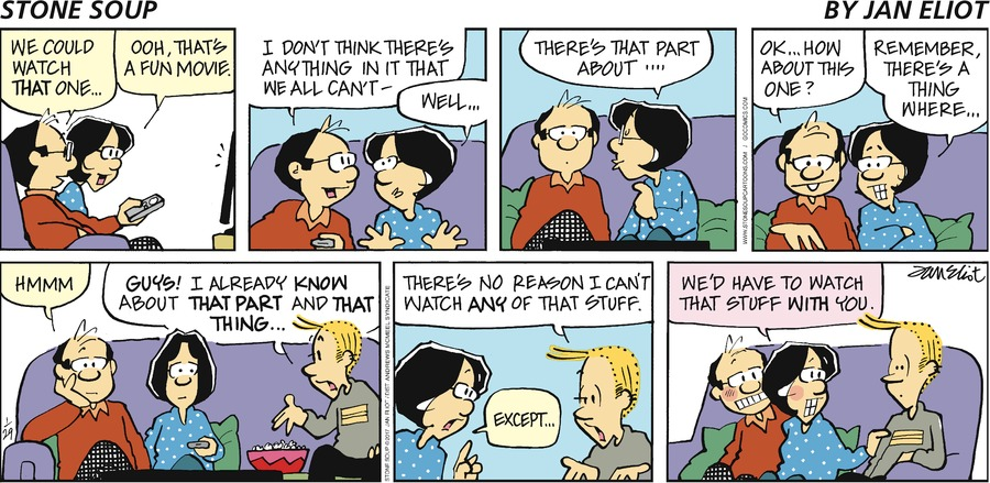 Stone Soup Comic Strip for January 29, 2017