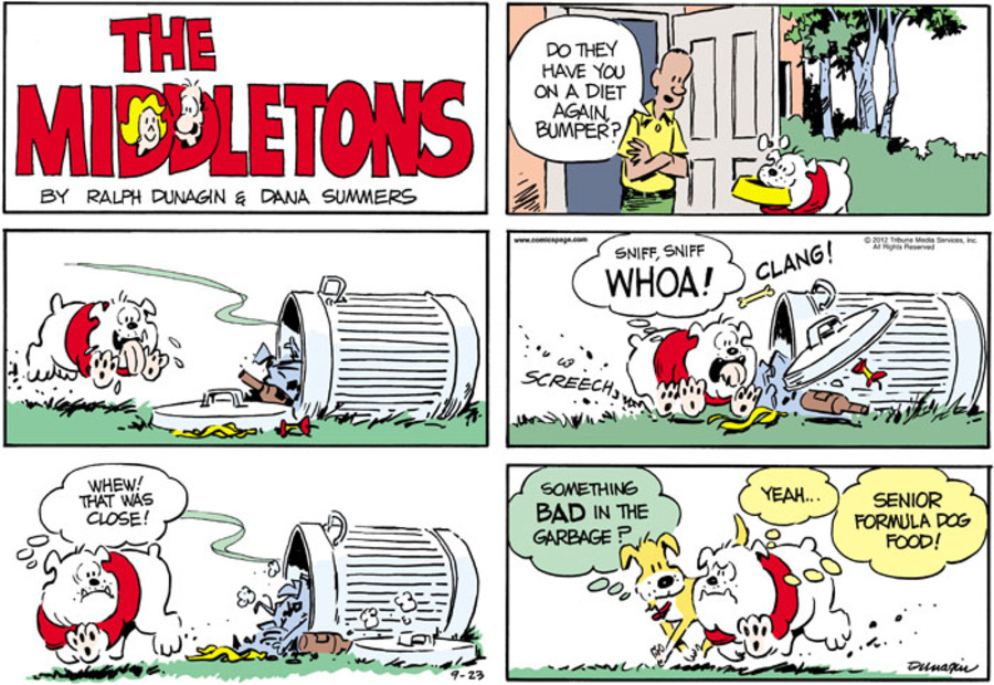The Middletons for Sep 23, 2012 Comic Strip
