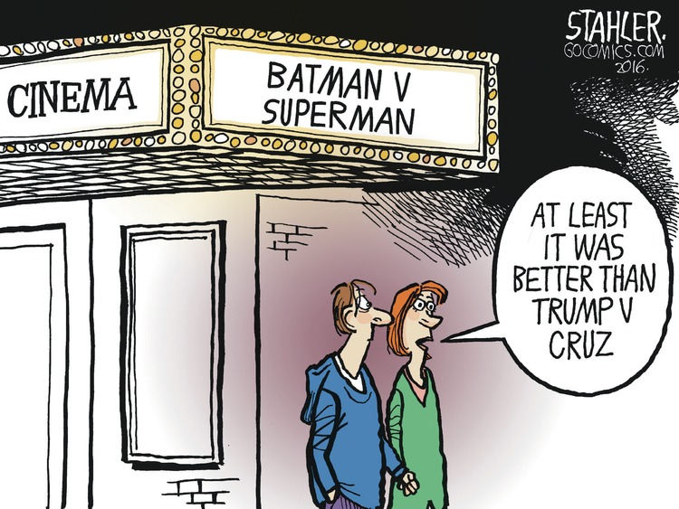 Jeff Stahler Comic Strip for March 27, 2016