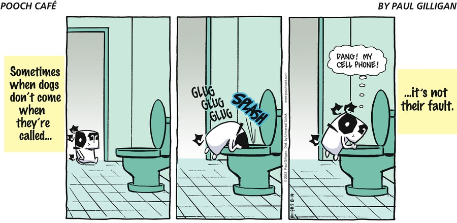 Pooch Cafe Comic Strip for August 19, 2012