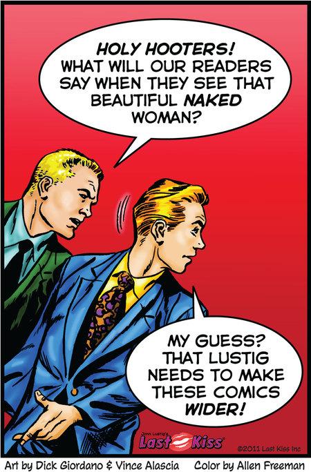 Last Kiss Comic Strip for January 13, 2020