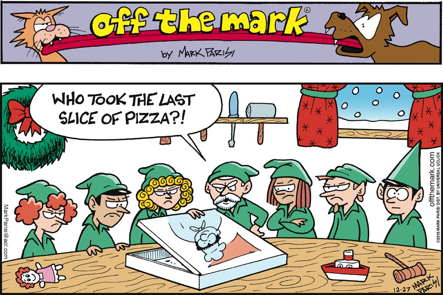 Off the Mark Comic Strip for December 27, 2015