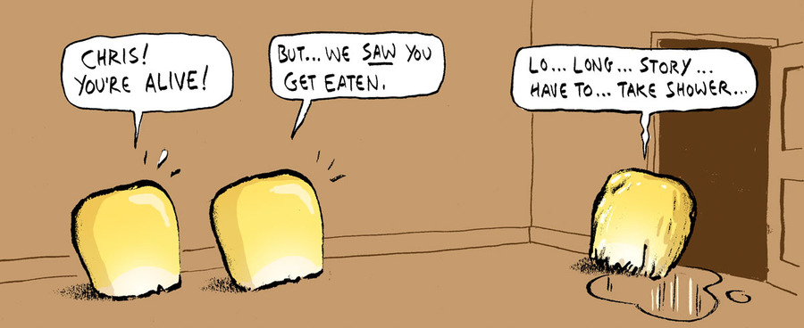 Berger & Wyse Comic Strip for October 17, 2012