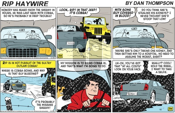 Rip Haywire on Sunday February 2, 2020 Comic Strip