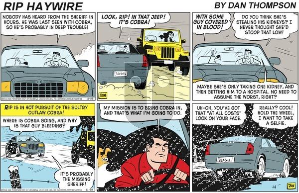 Rip Haywire - Sunday February 2, 2020 Comic Strip