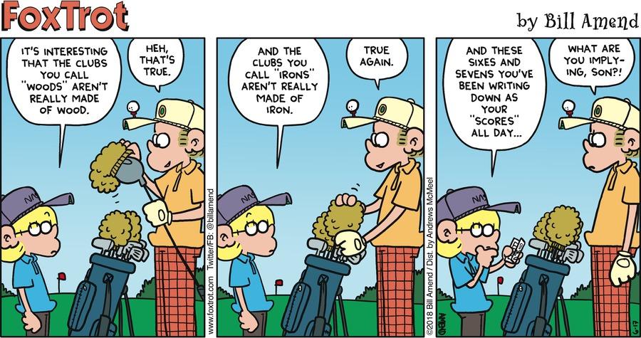 FoxTrot for Jun 17, 2018 Comic Strip