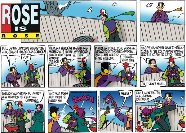 Rose is Rose on Sunday January 15, 2012 Comic Strip