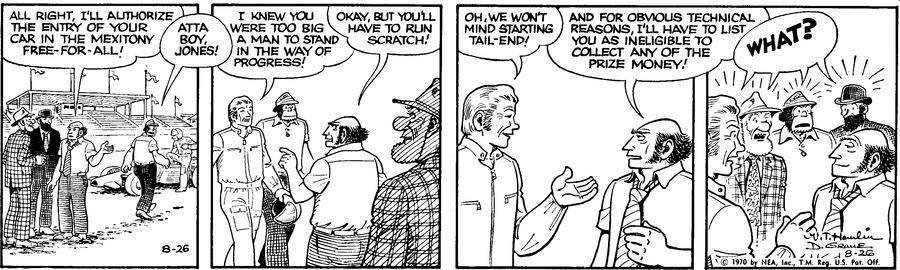 Alley Oop Comic Strip for August 26, 1970
