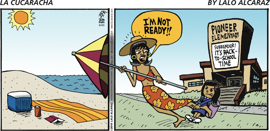 La Cucaracha Comic Strip for August 30, 2020