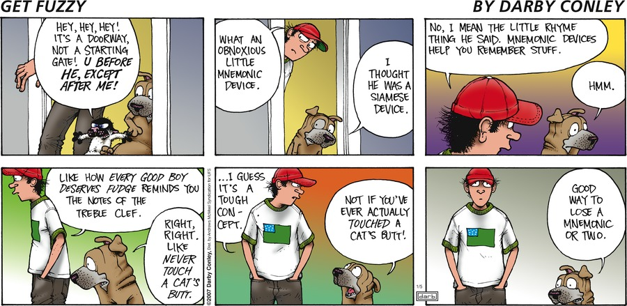 Get Fuzzy Comic Strip for January 05, 2020