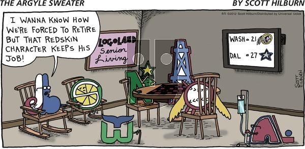 The Argyle Sweater on Sunday August 5, 2012 Comic Strip