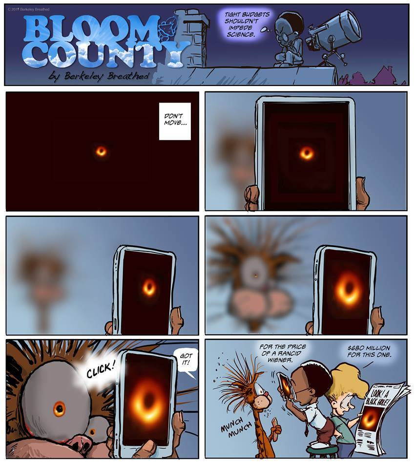 Bloom County 2018 by Berkeley Breathed for April 21, 2019