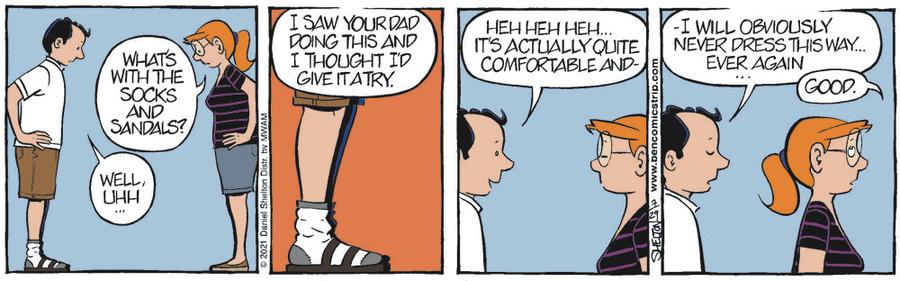 Ben Comic Strip for July 29, 2021
