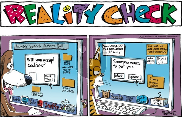 Reality Check on Sunday March 24, 2019 Comic Strip